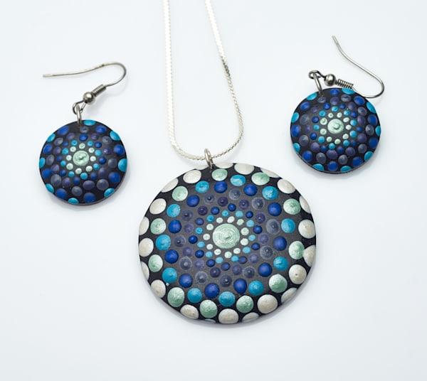 Necklace + Earrings Set (E)