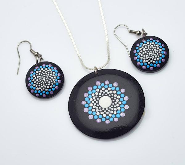 Necklace + Earrings Set (F)