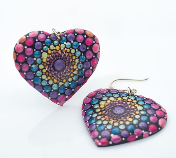 Heart Earrings (C)