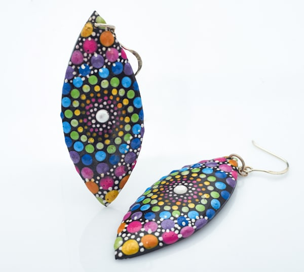 Leaf Earrings (A)