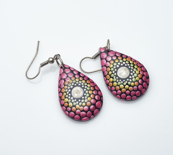 Mini Drop Earrings (A)