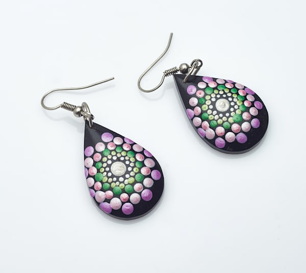 Mini Drop Earrings (B)