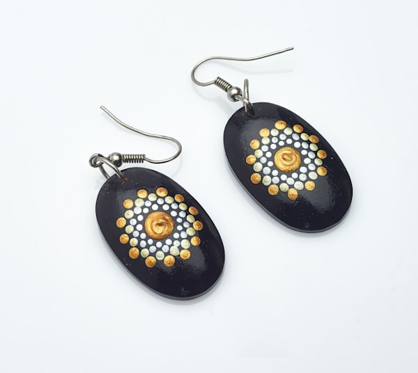 Mini Oval Earrings (C)