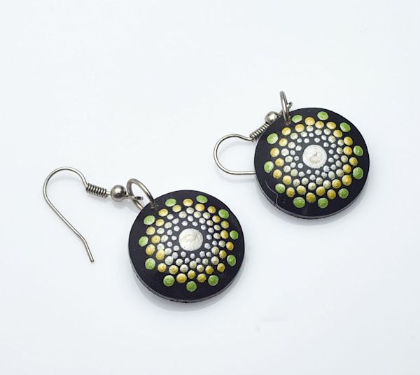 Mini Circle Earrings (A)