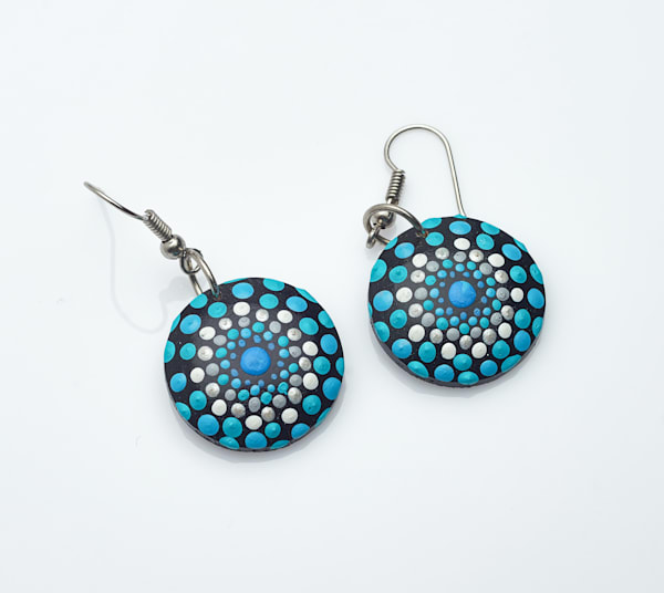 Mini Circle Earrings (B)