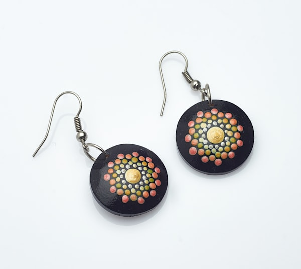 MIni Circle Earrings (C)