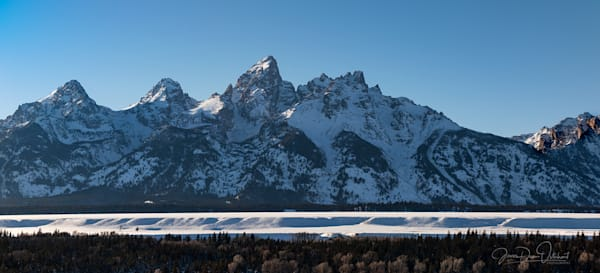 Teton  Pano  Photography Art | Swan Valley Photo