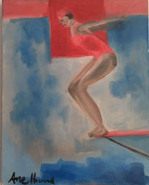 Diver in Red Roaring 20s