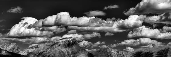 Clouds over  over the Great Divide of the Rockies.Banff National Park|Canadian Rockies|Rocky Mountains|