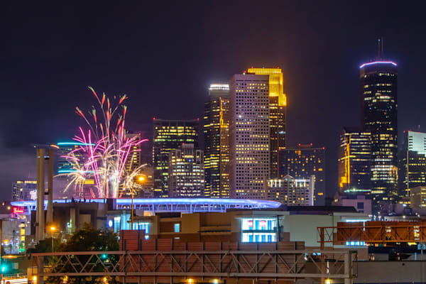 Minnesota Twins Summer Fireworks 7 - Images of Target Field | William Drew Photography