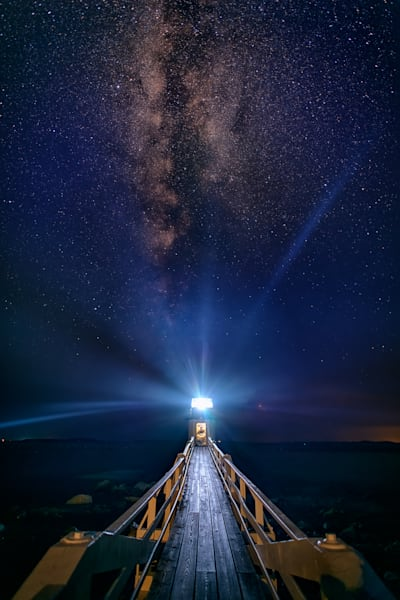 Starry Night at Marshall Point | Shop Photography by Rick Berk