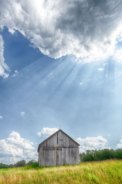 Barn Rays | Photographs of Adirondack State Park and Upper State New York | Nathan Larson Travel Photography