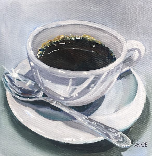 Cup of Coffee 3 by Food Artist Kristine Kainer