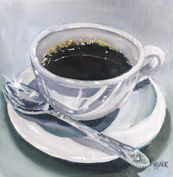 Cup of Coffee 3 by Food Artist Kristine Kainer