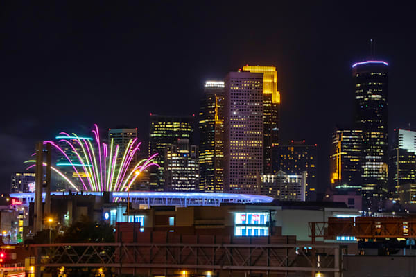 Minnesota Twins Summer Fireworks  - Target Field Images | William Drew Photography