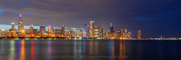 Independence Day at Chicago's Skyline - City Wallpaper Murals