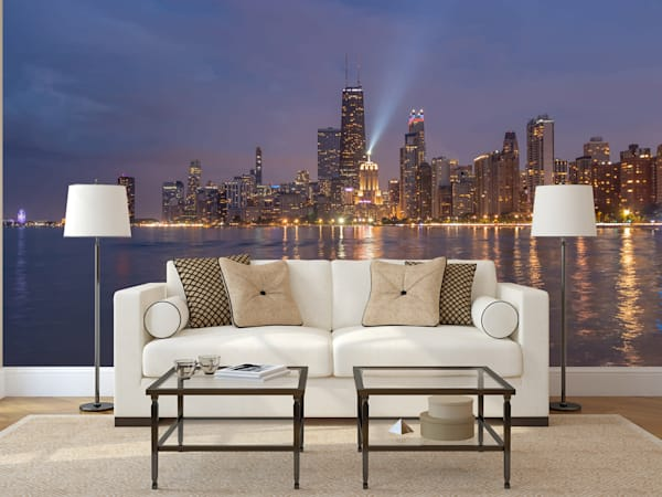City Skyline Murals: Shop Art | William Drew Photography