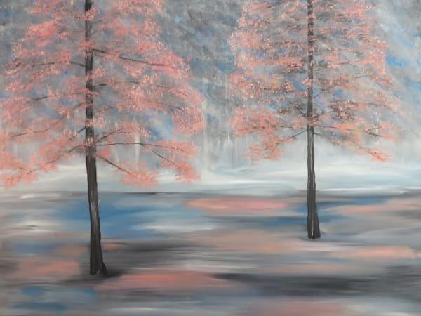 Misty Forest Art | Artist Ron Turner