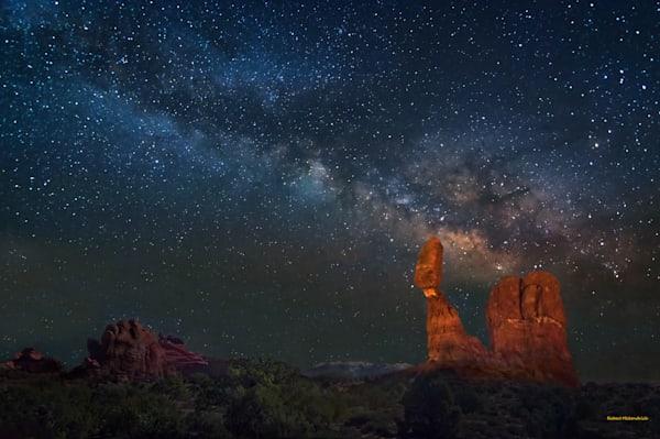 Balanced Galaxy-Arches National Park