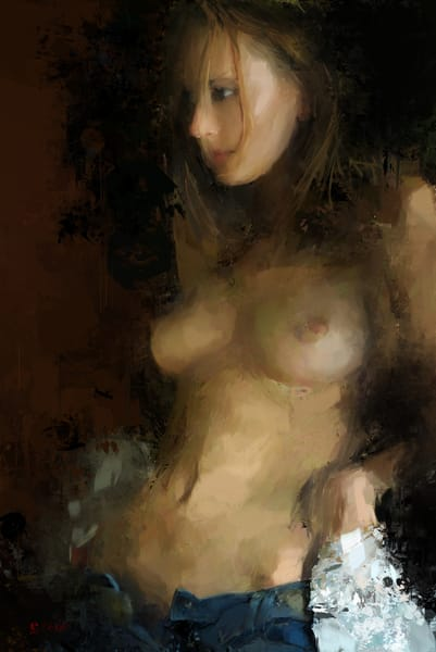 She Took Her Shirt Off by Eric Wallis.