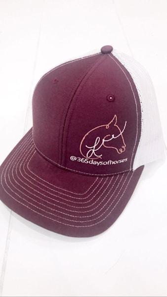 365 Days Of Horses Hat  | Equestrian Art