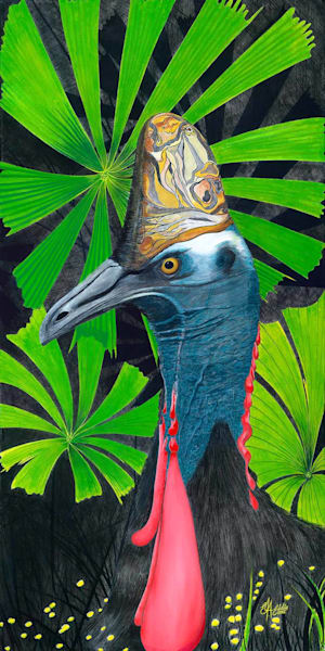 Contemporary Cassowary Licuala
