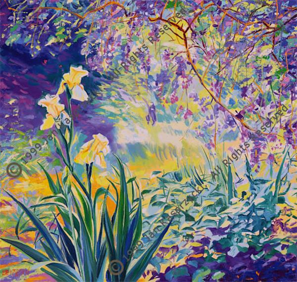 Spring In Provence, Ltd Edition Art | Kasprzycki Fine Art Inc.