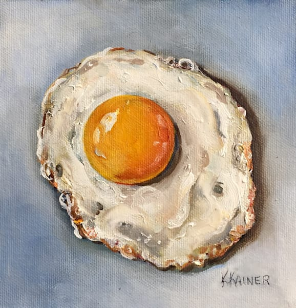 Sunny Side Up by Food Artist Kristine Kainer
