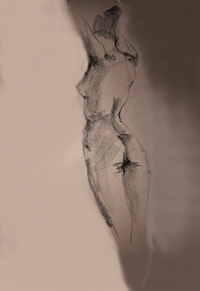 Kelly Bandalos / Figure Sketch 1059