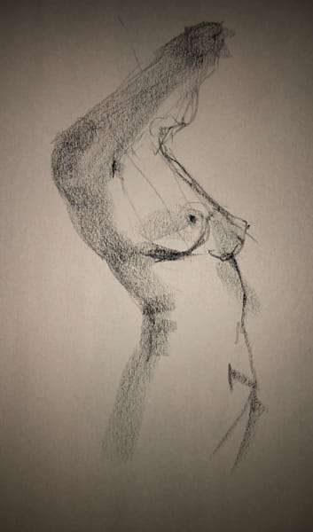 Kelly Bandalos / Figure Sketch 1052