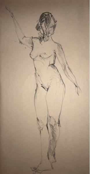 Kelly Bandalos / Figure Sketch 1053