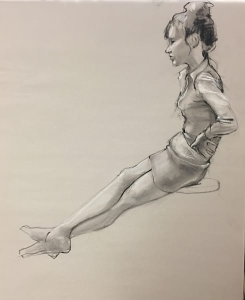 Kelly Bandalos / Figure Sketch 1061