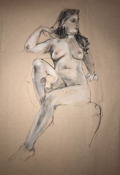 Kelly Bandalos / Figure Sketch 1062