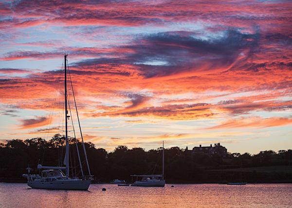 Jeff Adams Photography - Art Prints - Hadley Harbor Sunset