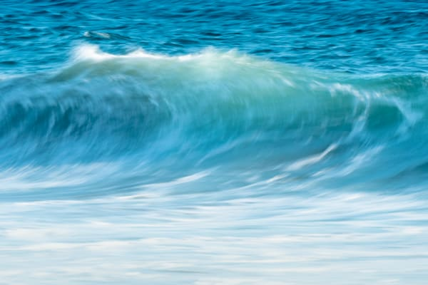 Wave art of California ocean photo