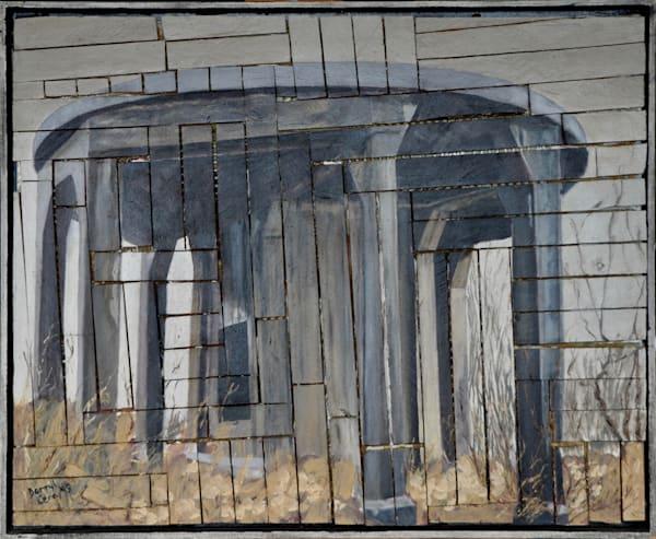 'railroad Water Tower Stanchion' Art | Cera Arts