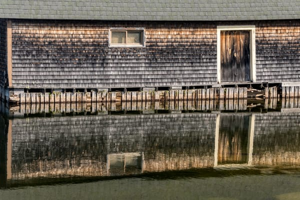 Boatshed-reflection