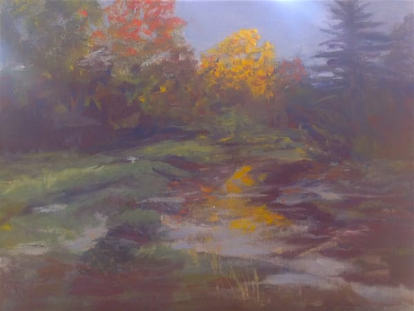 Mill Creek, Upstream Falmouth, Maine Art | East End Arts