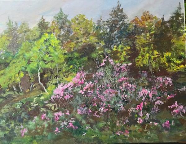 Rhodoras At Ponemah Bog Amherst, New Hampshire Art | East End Arts