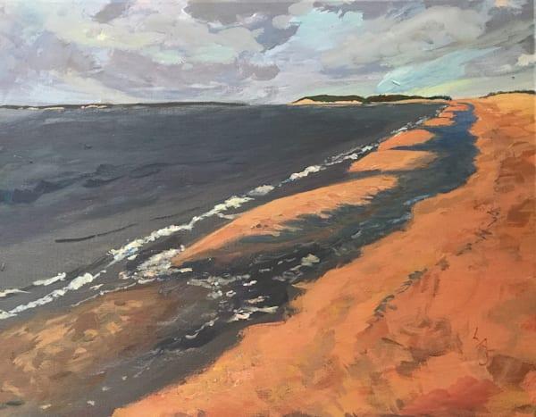Golden Hour, Little Peconic Bay Noyac, New York Art | East End Arts