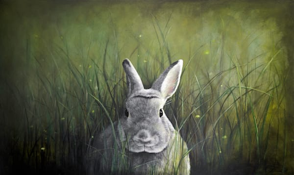 art prints, bunny rabbits, nature art, debra ferrari