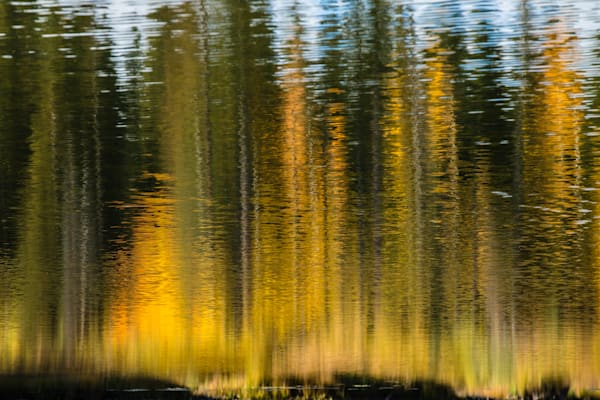 Fall Color Reflection Art | Kirk Fry Photography, LLC