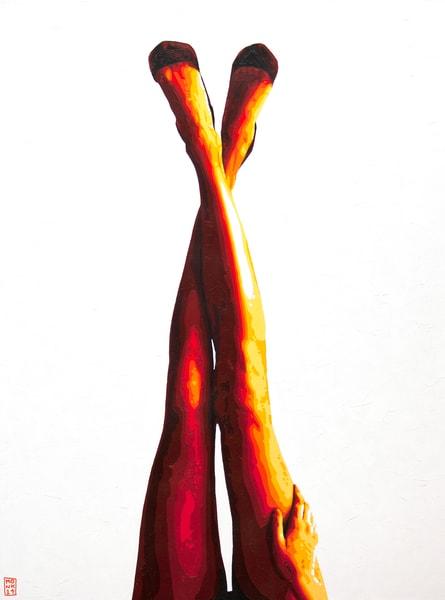 Legs For Days Print Art | Todd Monk Art