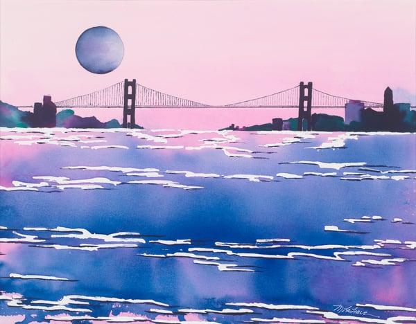Suspension Bridge  Art | Mickey La Fave