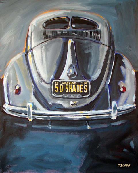 VW Bug Original Painting