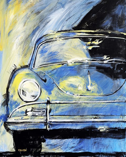 Blue Yellow 356A Original Painting