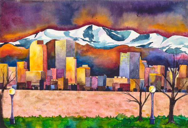 Colorful Denver  Art | Mickey La Fave