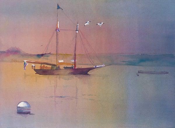 Calm Early Morning Art | Mickey La Fave