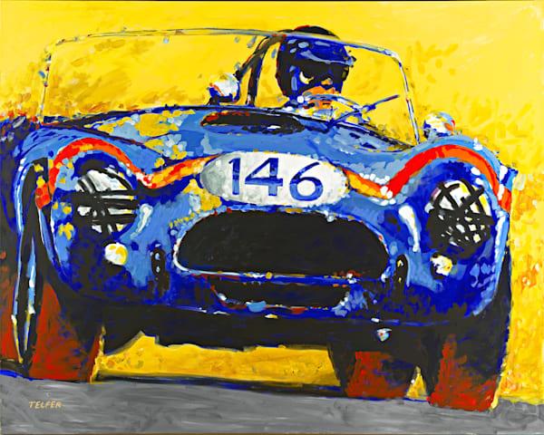 FIA Cobra Original Painting