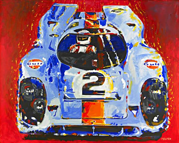 Porsche Daytona Champion 917 Original Painting